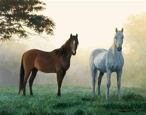 imagenes de paisajes y caballos cuadros modernos pinturas y dibujos paisajes naturales