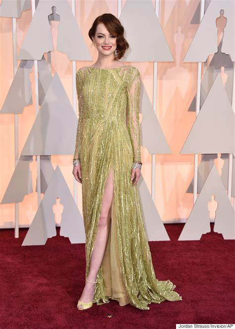 emma stone red carpet emma stone brings her mom as her date to the oscars huffpost