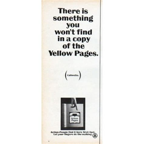 Yellow Pages Find 1966 Yellow Pages Vintage Ad Quot Something You Won T Find Quot