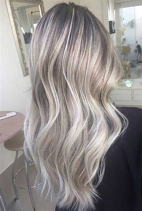 silver highlighted hair styles 25 best ideas about grey ash blonde on pinterest ashy