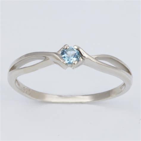 klenota sterling silver ring with topaz topaz rings