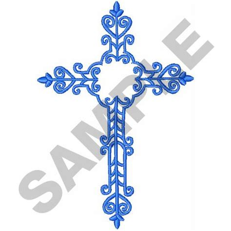 embroidery design cross filigree cross embroidery design annthegran