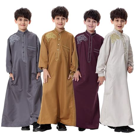 islamic pattern clothes 2017 muslim islamic clothing for kids arabia islamic abaya