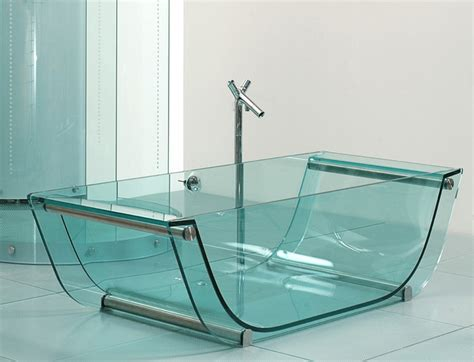clear bathtubs for sale tulip glass tub contemporary bathtubs other by