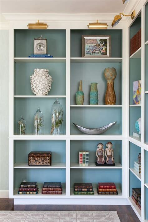 best paint for bookshelves best 20 paint bookshelf ideas on