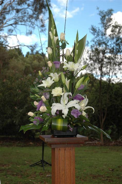 Pedestal Flower Arrangements pedestal arrangements adelaide blackwood florist