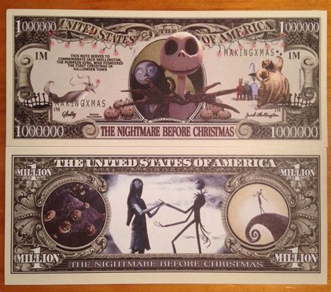 new year dollar bill tradition nightmare before million dollar bill ebay