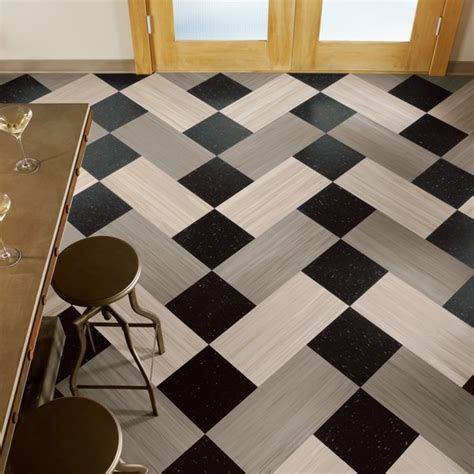amazing of vinyl black and white flooring black white
