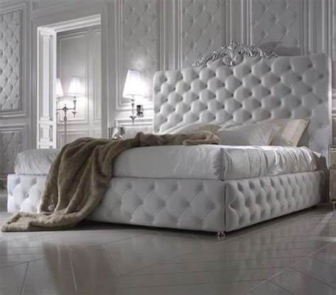 luxury bedroom furniture uk 25 best ideas about white leather bed on