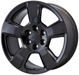 Truck Wheels 2016 20 Quot Silverado Suburban 1500 Truck Black Wheel Factory