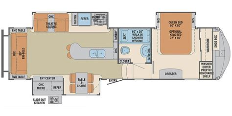 columbus rv floor plans full specs for 2017 palomino columbus 298rl rvs rvusa com