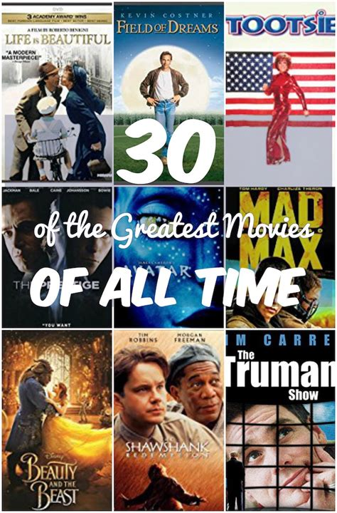 biography movies list all time 30 of the greatest movies of all time to add to your watch