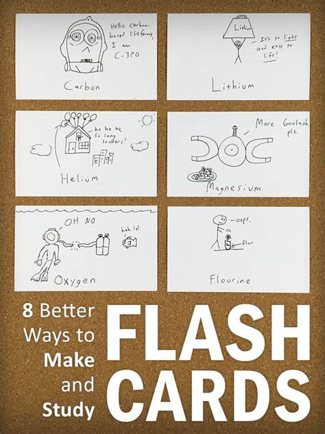 flash card maker to study 8 better ways to make and study flash cards college info