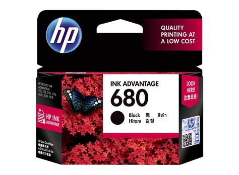 Dijamin Original Cartridges Hp Hp 680 Black hp 680 black original ink advantage cartridge hp store
