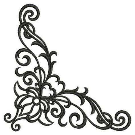 corner design 175 best images about scrolls on clip swirl design and scroll design