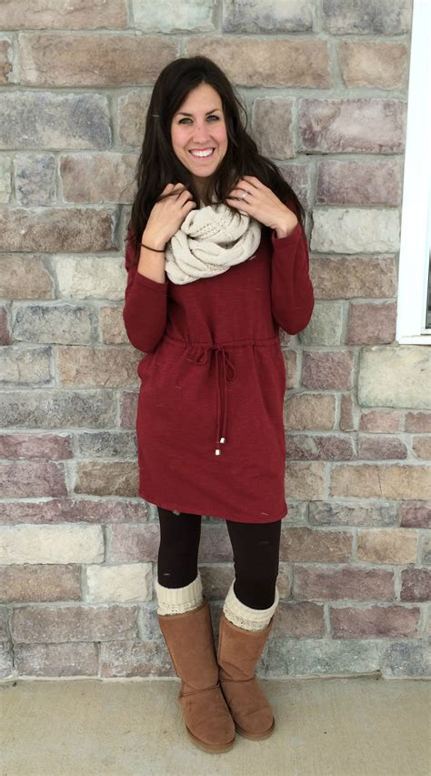 Dress White Cardy how to wear uggs with dress