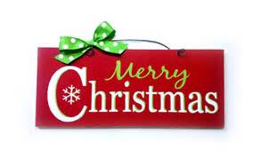 christmas sign with glitter merry by diamonddustdesigns