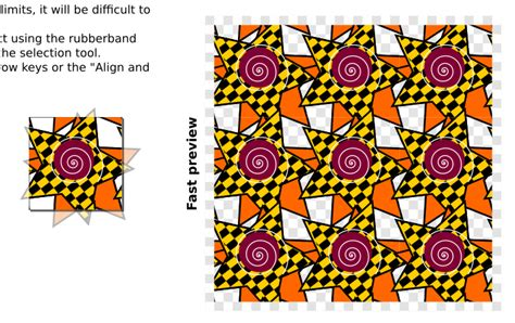svg pattern overflow svg how to generate vector tile patterns in inkscape