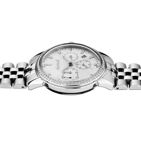 Silber Uhr Polieren by Ingersoll I03903 Damenuhr The Gem Quarzwerk Edelstahl