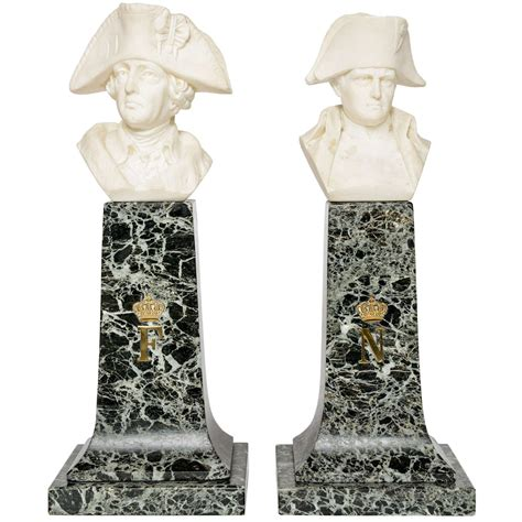 gary rubinstein antiques french empire style marble and alabaster models of