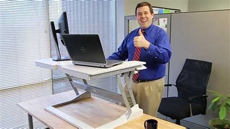 simple standing desk converter workfit t the easy standing desk ergotron