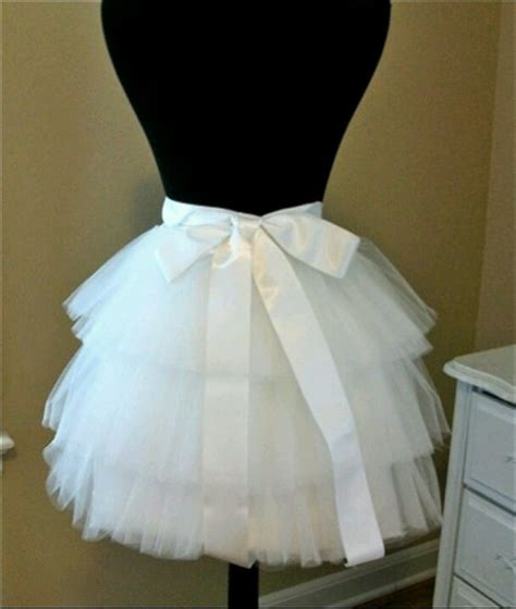 Rok Shabby Kawaii Import Skirt diy tulle skirt dont need the ribbon but it looks like the size for underneath