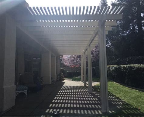 Patio Covers Roseville Ca Durawood Patio Cover Lattice Roseville Ca Petkus Brothers