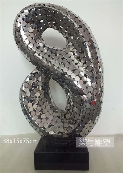 stainless sculpture modern abstract home decoration public compare prices on modern steel sculpture online shopping