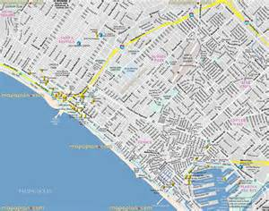 map of venice california los angeles map venice
