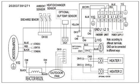 mini split inverter wiring diagram mitsubishi heat