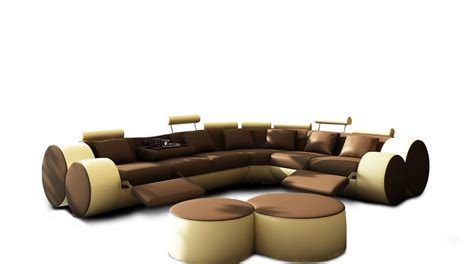 living room furniture bay area living room modern leather sectional sofa yellow vg