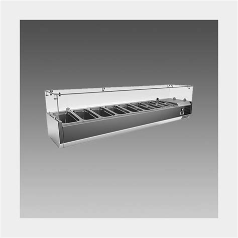 countertop prep cooler oliver 71 commercial countertop w glass sneeze guard