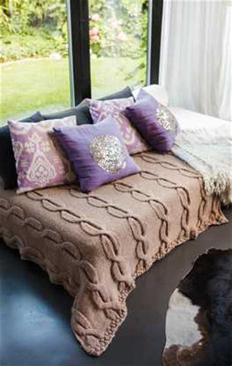 Garn Decke by Fauna Linea Pura Garn
