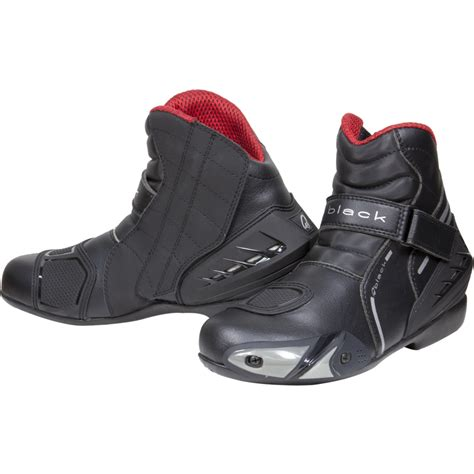 low cut motocross boots black circuit motorcycle boots