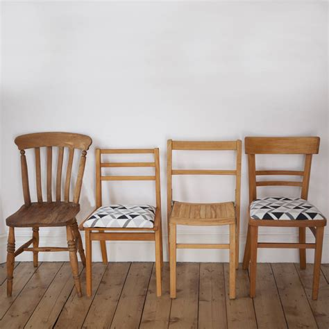 mismatched dining chairs mismatched dining chair set two by deja ooh