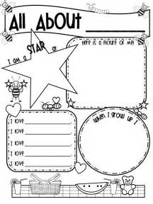 about me poster template 1000 images about eyfs all about me on