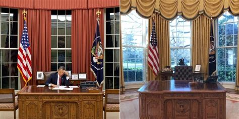 redesign oval office all the ways has redecorated the oval office to make