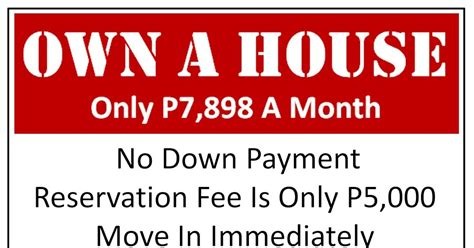 can i buy a house with 5 down cebu home finder