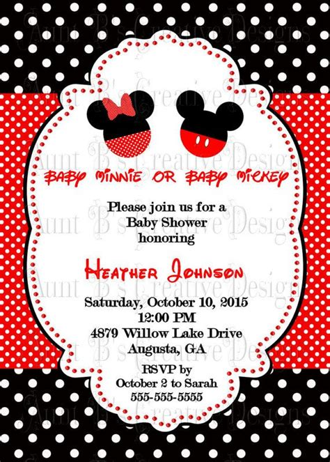 Minnie And Mickey Mouse Baby Shower by Best 25 Mickey Baby Showers Ideas On Baby