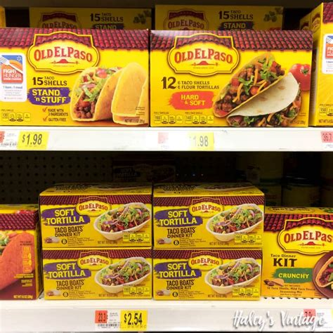 old el paso taco boats directions easy beef taco boats your kids will love haley s vintage