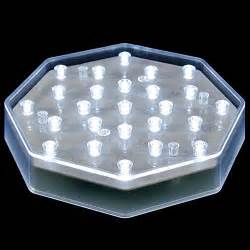 battery powered led lights 25 clear led centerpiece light base battery powered with
