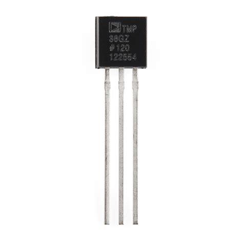 temperature sensor tmp sen  sparkfun electronics