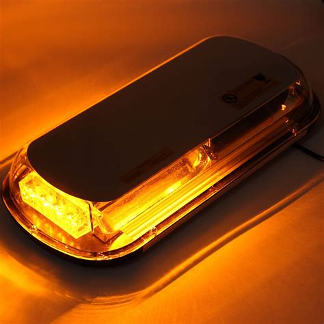 roof mounted amber flashing lights amber 44 led strobe light car roof top emergency warning