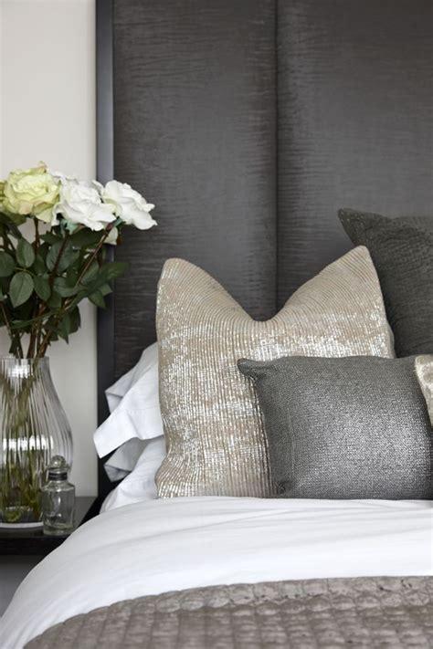 silver cushions bedroom bedroom 1 cushion headboard detail bedrooms