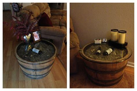 dashing diy wine barrel with diy wine barrel side tables craft projects