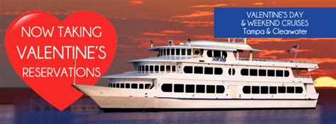 valentines day cruises s day early dinner cruise ta ta fl