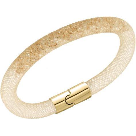 bijoux femme swarovski bracelet swarovski 5139750 bracelet stardust dor 233 femme sur bijourama r 233 f 233 rence des bijoux