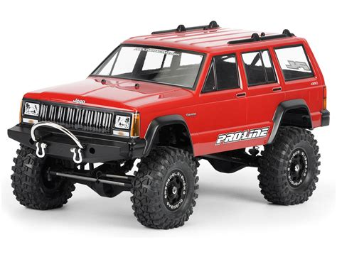 Proline Jeep Pro Line 1992 Jeep 1 10 Crawler Clear
