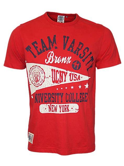 design a varsity crew shirt new mens ucny legends and varsity designer crew neck t