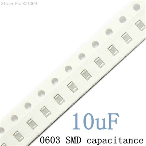 smd capacitor a 106 aliexpress buy 0603 10uf 106m 106 y5v smd capacitor 1608 chip ceramic capacitor 500pcs